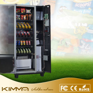 Compact Vending Machine 6 Trays 36 Selections Operated by Cash pictures & photos