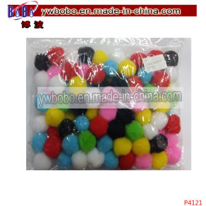 Value Pack Assorted Colors Acrylic Pompoms Best Christmas Ornament (P4121) pictures & photos