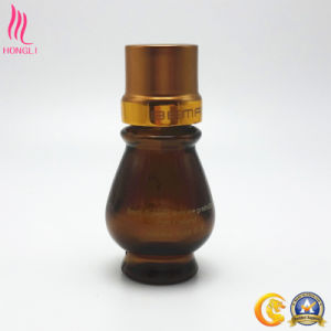 Lantern Shaped Glass Container for Skin Care Lotion pictures & photos