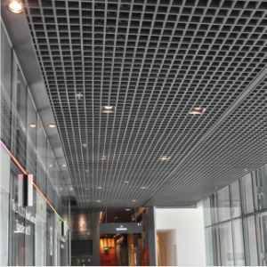 Aluminum False Open Grid Suspended Ceiling with SGS pictures & photos