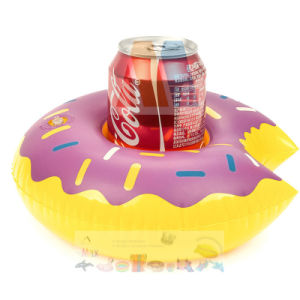 Mini PVC Inflatable Cup Holder Floating pictures & photos