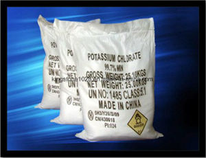 Potassium Chlorate 99.5% for Fireworks pictures & photos