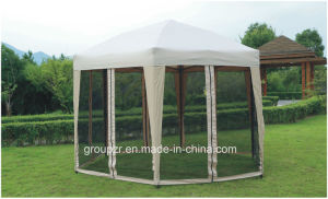 Folding Metal Outdoor Gazebo Witn Side Wall pictures & photos