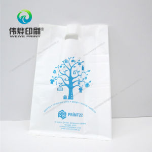 White Printing Plastics Bag, Easy to Carry pictures & photos