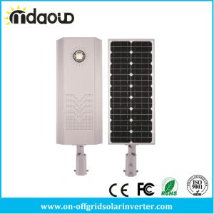 10W/20W/30W/40W/50W/60W Wireless Smart Integrated Solar LED Street Light pictures & photos