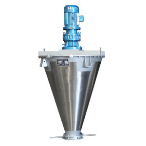 Dsh Supply Single Shaft Double Screw Mixer Machine Equipment pictures & photos