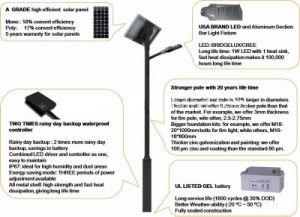 60W 80W LED Solar Street Light pictures & photos
