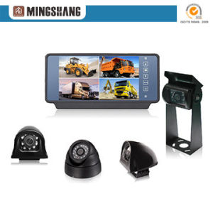 7inch Quad Mirror Monitor Rearview Camera Reversing Aid Security System pictures & photos