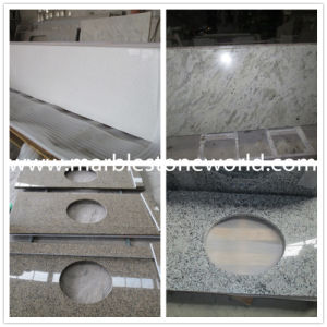 New Kashmir White/Andromeda White Granite Slab for Kitchen Countertop pictures & photos