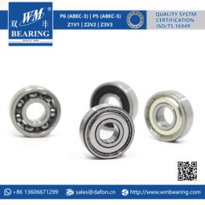 6201 2RS Zz Emq Electric Motor Deep Groove Ball Bearing pictures & photos