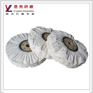 Cotton Cloth Airwing Wheel for Metal and Stainless Steel Surface Polishing pictures & photos
