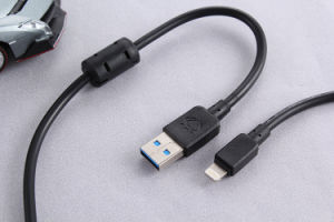 PVC Insualted Data Cable with Magnetic Ring for Android Mobile pictures & photos