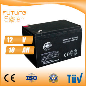 Futuresolar Lead Acid Battery 12V 10ah Solar Panel Rechargeable Battery pictures & photos