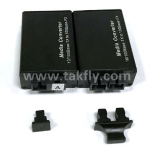 Sc/FC/St/SFP 10/100m Mini Fiber Optical Media Converter pictures & photos