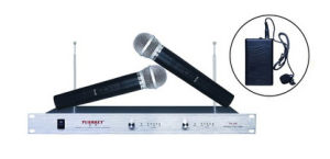 Factory Wholesale Tiny Small Portable Classroom VHF Wireless Microphone for Teachers Top Quality pictures & photos