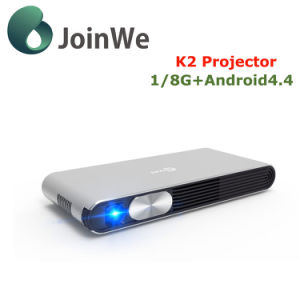 K2 Mini Projector 1g 8g Mini Smart WiFi Android 4.4 Projector pictures & photos