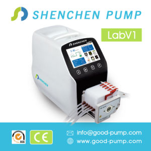 Laboratory Industrial Peristaltic Pump with ABS, English Version, LCD Screen pictures & photos
