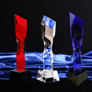 Crystal Glass Trophy Craft for Christmas Gift pictures & photos