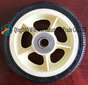 Solid Polyurethane Foam Wheel for Caster Wheel (7.8*1.6) pictures & photos