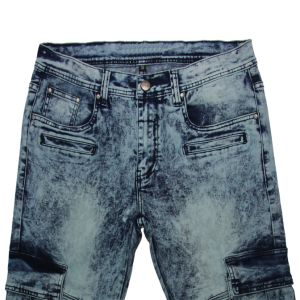 High Quality Men′s Snow Washing Jeans (MYX16) pictures & photos