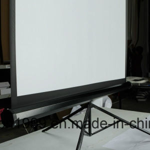 "70""X70"" Tripod Stand Projector Screen 10 Years Manufactruer pictures & photos"