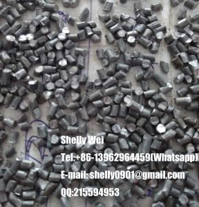 Abrasives / Cut Wire Shot / Steel Grit / Stainless Steel Cut Wire Shot / Steel Shot / Aluminum Cut Wire Shot /Zinc Shot pictures & photos