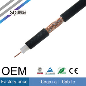 Sipu Factory Price Rg59 Coaxial Cable for TV PVC Cables pictures & photos