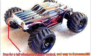 Firm 1/10 Electric RC Model Cars with 4 Big Foot pictures & photos