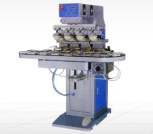 4 Colorpad Printing Machine with Rotary Plate pictures & photos