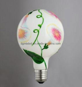 110V 220V 4W 6W 8W E27 Ceramic Substrate Flower Lighting bulb pictures & photos
