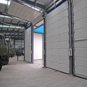 Automatic Rapid Sliding Garage Door with Sensor system pictures & photos