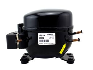 R404A Deep Freezer Refrigerator Fridge 220V AC Hermetic Refrigeration Compressor Gqr90k 1/2HP 515W pictures & photos