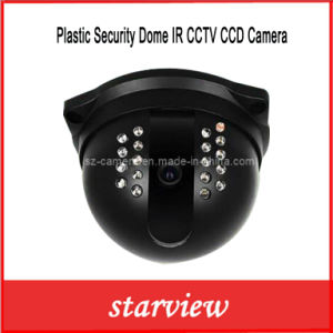 Plastic Security Dome IR CCTV CCD Camera (SV60-D260M) pictures & photos