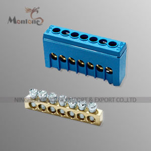 DIN Rail Mount Screw Terminal Block Adapter Module & Bornier & Terminal Block pictures & photos