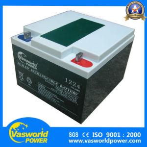VRLA Long Life Battery 12V24ah Solar Tubular Gel Battery pictures & photos