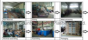 Auto Preform Feeding 2 Cav. Linear Pet Blow Molding Machine Factory pictures & photos