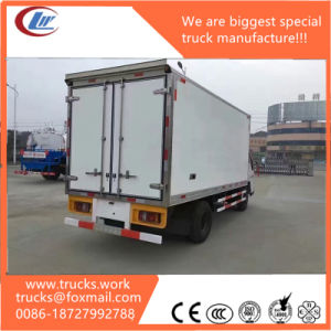 4X2 Refrigerator Cargo Truck Container Truck Dimension pictures & photos