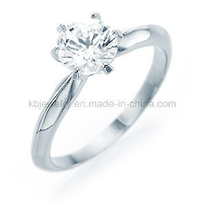 6prongs Setting Diamond Ring 925 Sterling Silver Jewelry (R1908) pictures & photos