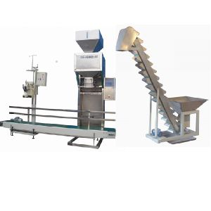 Automatic 10kg 50kg Bag Rice Weighing Filling Sealing Packing Machine pictures & photos