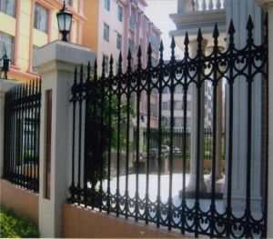 Excellent R&D Team Wall Strong Customizability Palisade Fence pictures & photos