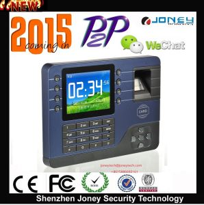 Hot Sell P2p Cloud New 3.2 Inch Color TFT Screen Fingerprint + Password + RFID Card. pictures & photos