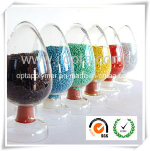 Factory Direct Supply! ! Competitively Priced TPE/TPV Granule Materials with ISO, SGS, RoHS, Reach Complied pictures & photos