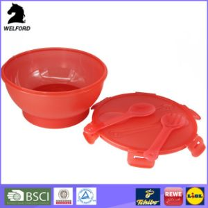 Cooling Bowl Salad to Go Plastic Bowl Picnic Salad Bowl pictures & photos