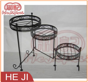Foldable Planter Stand with Three Holders pictures & photos