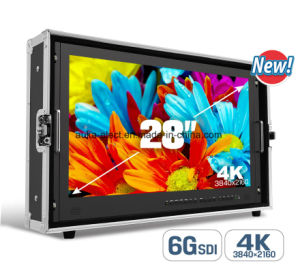 28′′ 6g-Sdi 4k Display Resolution for Cinema Screen Monitor pictures & photos