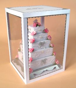 Pop Acrylic Display Shelf for Cakes, Advertising Display Stand pictures & photos