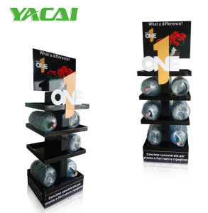 Supermarket Cardboard Pallet Display Stand Holding 30kgs Per Tray for Retail pictures & photos