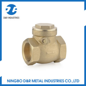 Brass Check Valve for Water pictures & photos