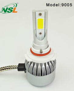 C6 LED Headlight 9005 9006 H7 LED Auto Headlight for Motorcycle Car pictures & photos