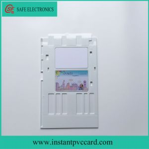 White Ink Printing PVC Card Tray for Epson P50 Printer pictures & photos